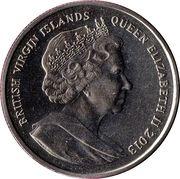 1 Dollar - Elizabeth II (Nicholas II) – avers