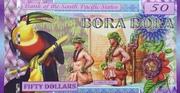 50 Dollars (Bora Bora) – avers