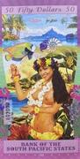 50 Dollars (Bora Bora) – revers
