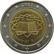 2 Euro – avers