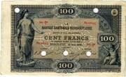 100 francs (Banque Cantonale Neuchâteloise) – avers