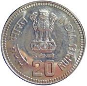 20 Rupees (Birth of Nehru) -  avers
