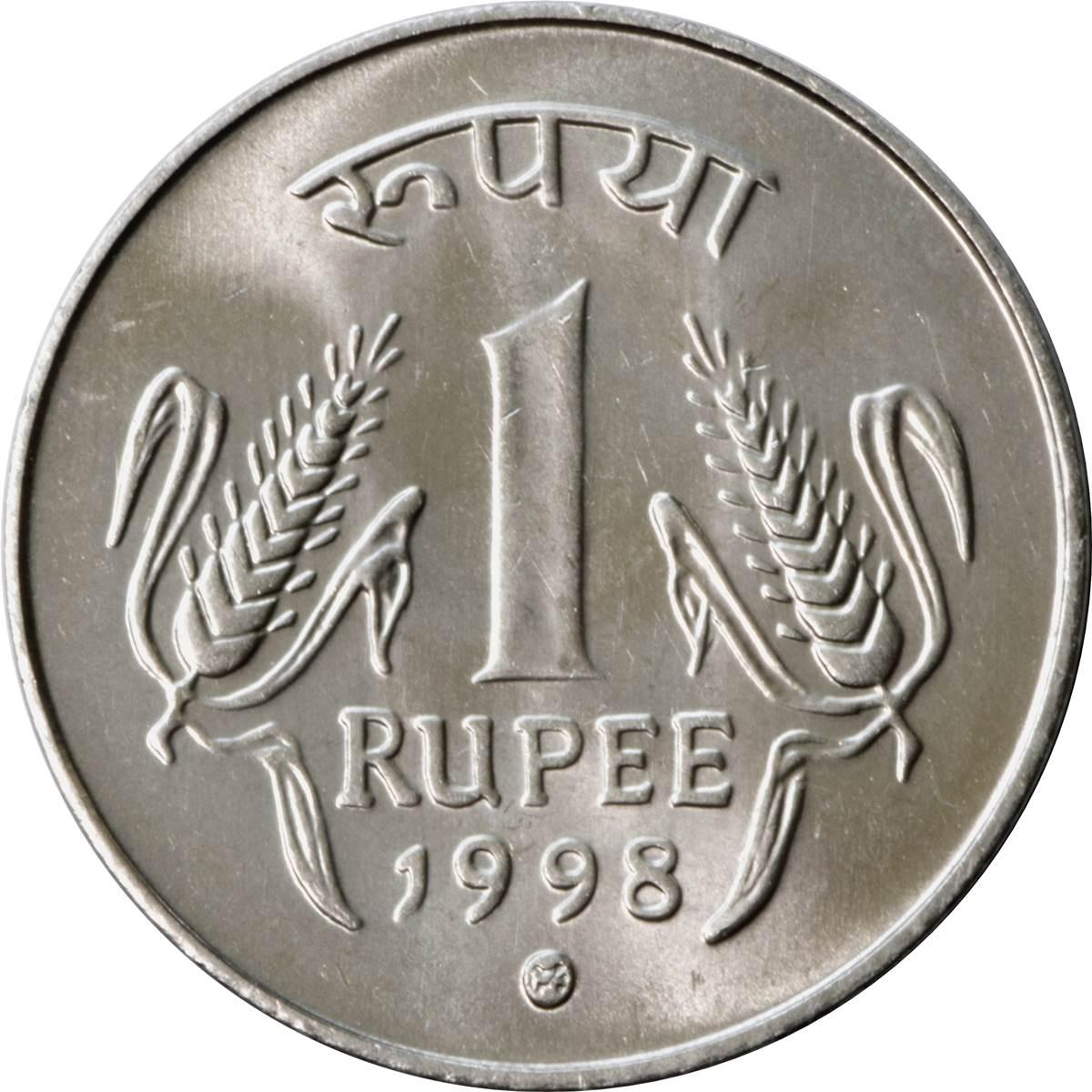 1 Roupie Inde Numista