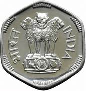 3 paise -  avers