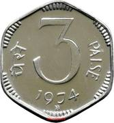 3 paise – revers