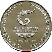 100 roupies 19th Commonwealth Games - Delhi 2010 -  avers