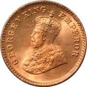 1/12 anna - George V -  avers