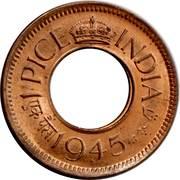 1 pice - George VI -  avers