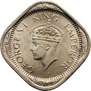 2 annas - George VI (Cupronickel type 2) -  avers