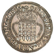 8 Testerns - Elizabeth I – revers