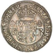 2 Testerns - Elizabeth I – avers