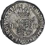 1 Testern - Elizabeth I – avers