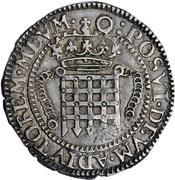 1 Testern - Elizabeth I – revers