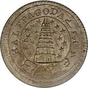 ½ pagoda – avers
