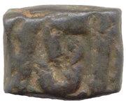 1 Falus - Muhammad Jahangir Ujjain – revers