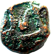 1/2 Paisa - Aurangzeb (Surat mint) – avers