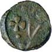 ½ Bazaruco - João III (Goa mint) – avers