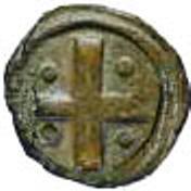½ Bazaruco - João III (Goa mint) – revers