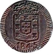 7½ Reis - Maria II -  avers