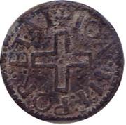 1 Dinheiro - João III (Malaca mint) – avers