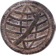 1 Dinheiro - João III (Malaca mint) – revers