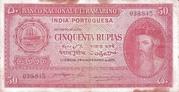 50 Rupias – avers