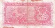 50 Rupias – revers