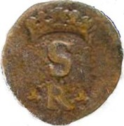 1 Real - Sebastião I (Goa mint) – avers