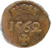 1 Real - Sebastião I (Goa mint) – revers