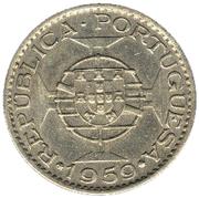 6 escudos -  revers