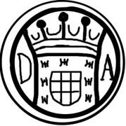 Roda de [Wheel of] 2 Bazarucos - João V (Damão mint) -  avers