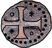 ½ Bazaruco - Sebastião I (Goa mint) – revers
