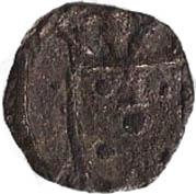1 Dinheiro - Manuel I (Goa mint) – avers