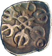⅛ Satamana - Gandhara Janapada – avers