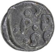 1 Cash - Frederik III – revers