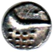 1 Fanam (Cochin Mint) – revers