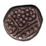 ½ fanon - Pondichery (1720-1837) – revers