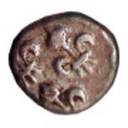 ½ fanon - Pondichery (1720-1837) – avers