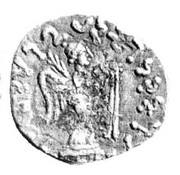 Drachm - Satavastres - 12 BC-130 AD (Sind) – revers