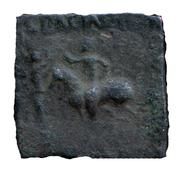 Chalkou / AE Unit - Gondophares - 12 BC-130 AD (Arachosia) – avers