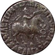 Tetradrachm - Gondophares successor - Abdagases I - 12 BC-130 AD (Indo-Parthian Kingdom) – avers