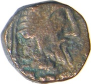 Drachm - Gondophares - 12 BC-130 AD (Indo-Parthian Kingdom) – avers