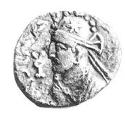 Drachm - Sarpedones - 12 BC-130 AD (Sind) – avers
