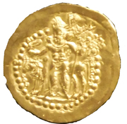 Dinar of the Indo-Sassanid
