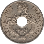 5 centimes (cupronickel) – avers