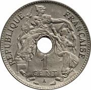 1 Centime (Essai) – avers
