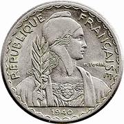 10 centimes (magnétique) – avers