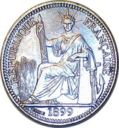 10 centimes – avers
