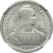 10 centimes -  avers