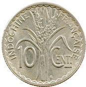 10 centimes (non magnétique) – revers